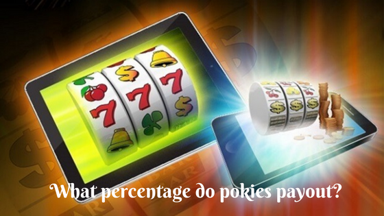What percentage do pokies payout_