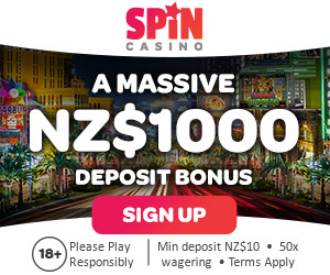 spin casino new zealand welcome match bonus nz 1000 free